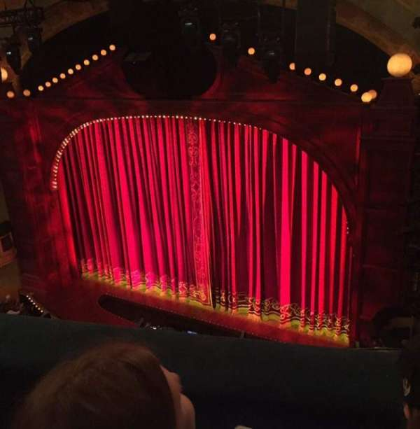 Shubert Theatre, section: Balcony Right, row: B, seat: 16, 18