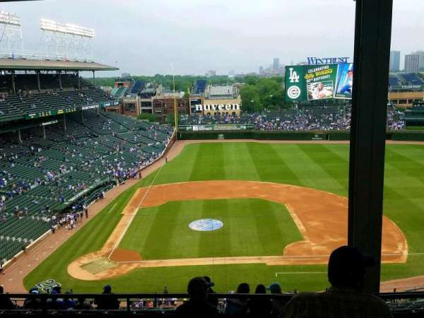 Wrigley Field, section: 424R, row: 6, seat: 8