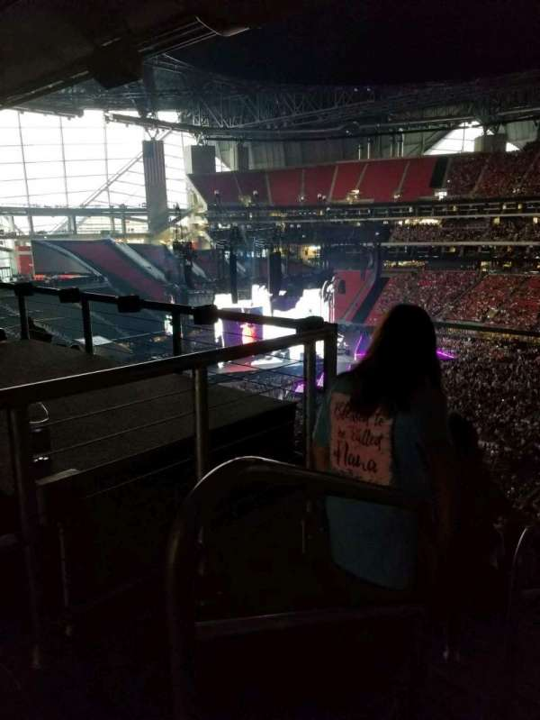 Mercedes-Benz Stadium, section: 233, row: k, seat: 14