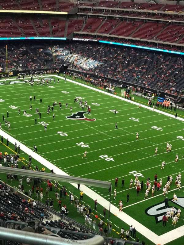 NRG Stadium, section: 601, row: B, seat: 7