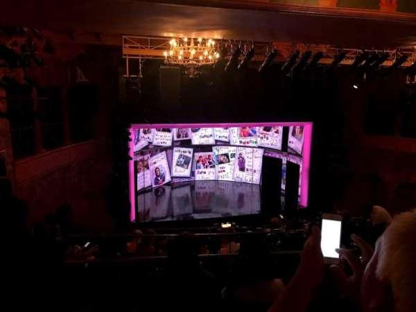 August Wilson Theatre, section: Mezzanine L, row: L, seat: 9