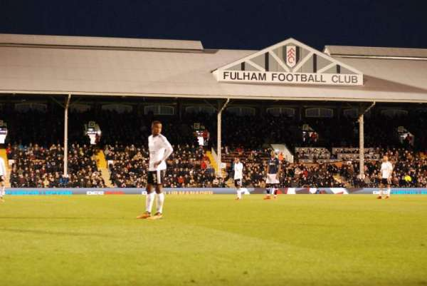 Craven Cottage, section: TL, row: 1, seat: 18