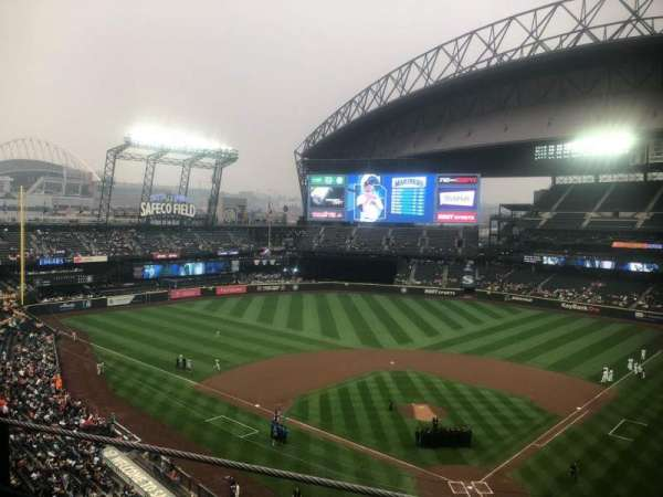 T-Mobile Park, section: 332, row: 1, seat: 1