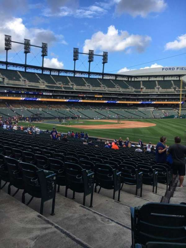 Comerica Park, section: 115, row: 30, seat: 2