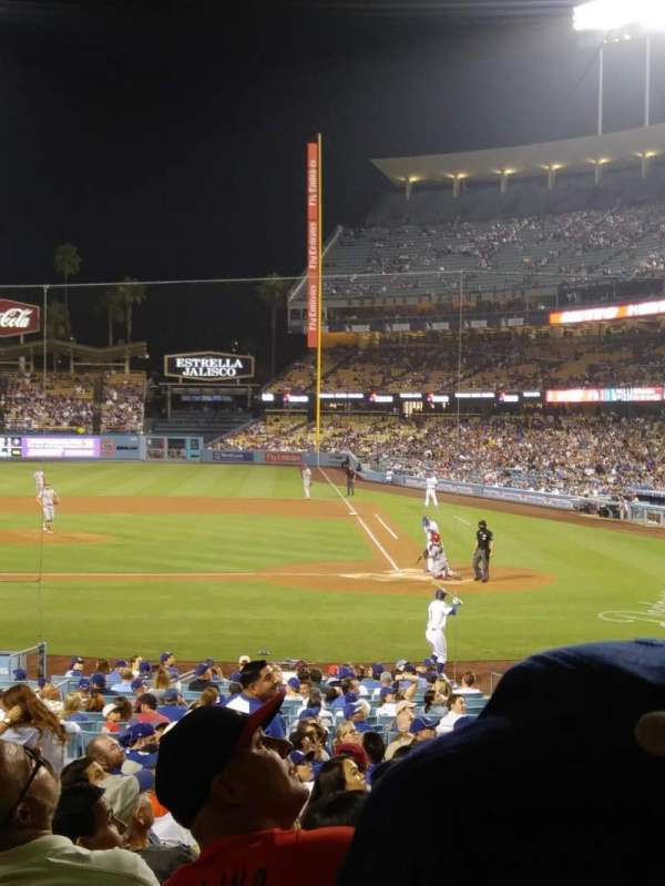 Dodger Stadium, section: 11FD, row: U, seat: 3