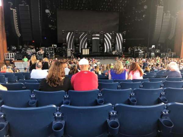 Merriweather Post Pavilion, section: 200, row: O, seat: 30