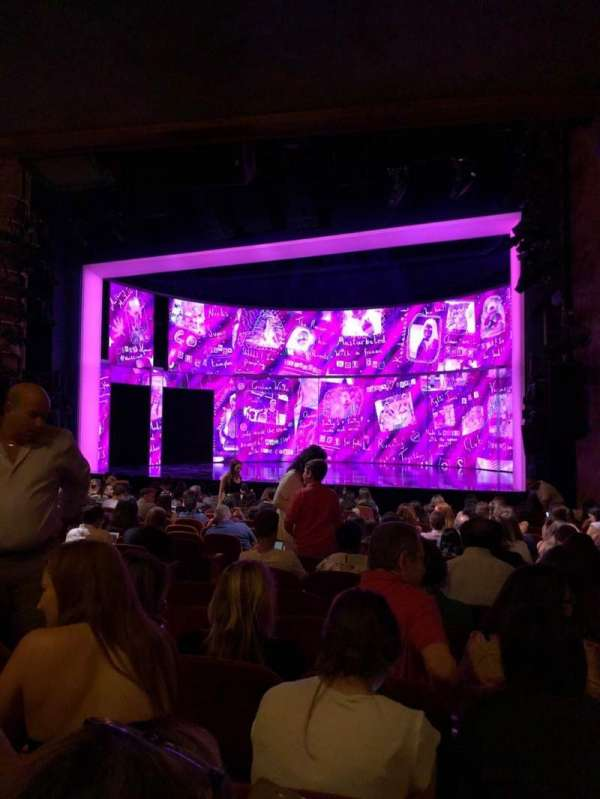 August Wilson Theatre, section: Orchestra R, row: Q, seat: 12
