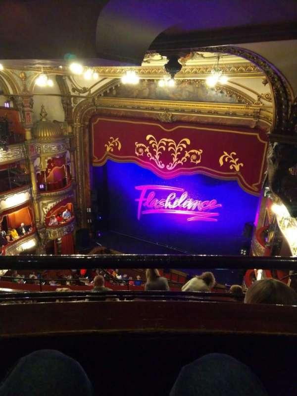 Grand Opera House (Belfast), section: Gods, row: E, seat: 29