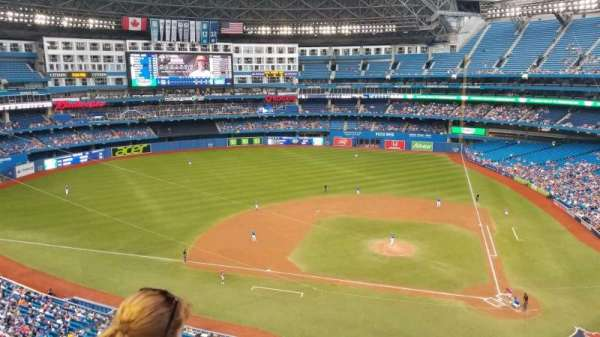 Rogers Centre, section: 528R, row: 2, seat: 5