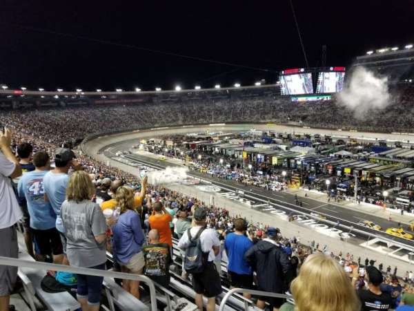 Bristol Motor Speedway, section: Pearson J, row: 57, seat: 12