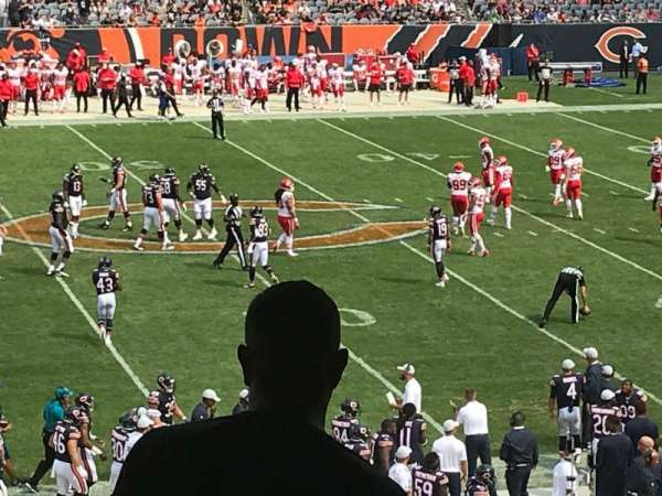 Soldier Field, section: 239, row: 7, seat: 7