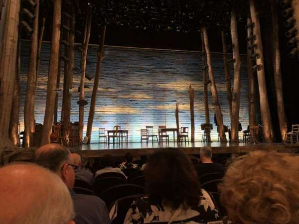 Gerald Schoenfeld Theatre, section: Orchestra C, row: J, seat: 101