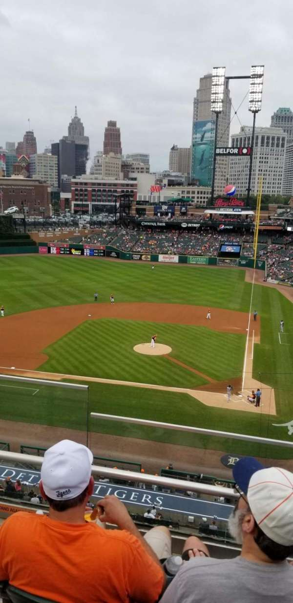 Comerica Park, section: 131, row: C, seat: 16