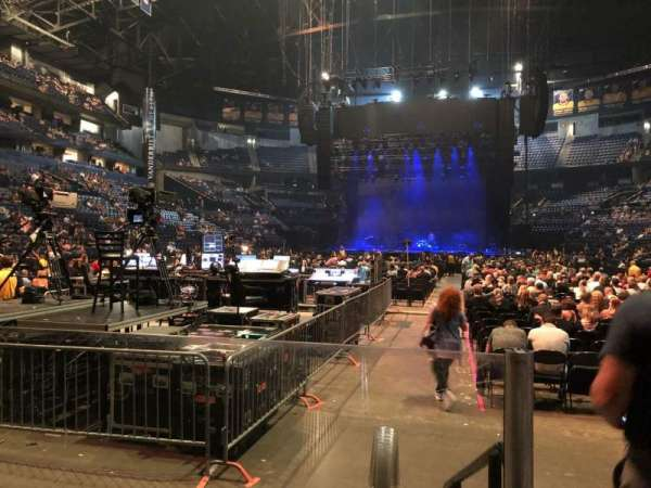 Bridgestone Arena, section: 101, row: CC, seat: 2