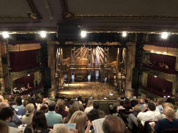 CIBC Theatre, section: Mezzanine LC, row: K, seat: 301-304