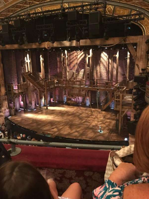 Richard Rodgers Theatre, section: Front Mezzanine R, row: B, seat: 10