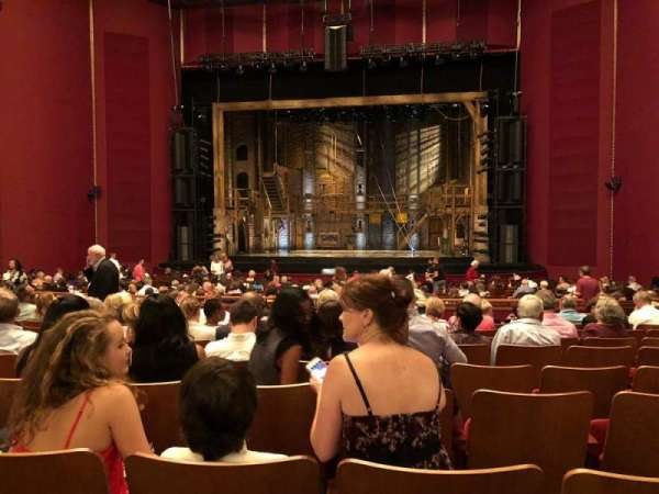 The Kennedy Center Opera House, section: Orchestra C, row: AA, seat: 108