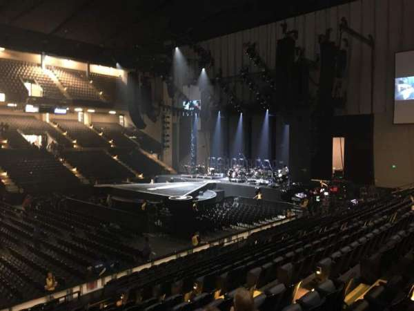 Royal Farms Arena, section: 210, row: F, seat: 210
