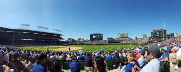 Wrigley Field, section: 126, row: 6, seat: 12