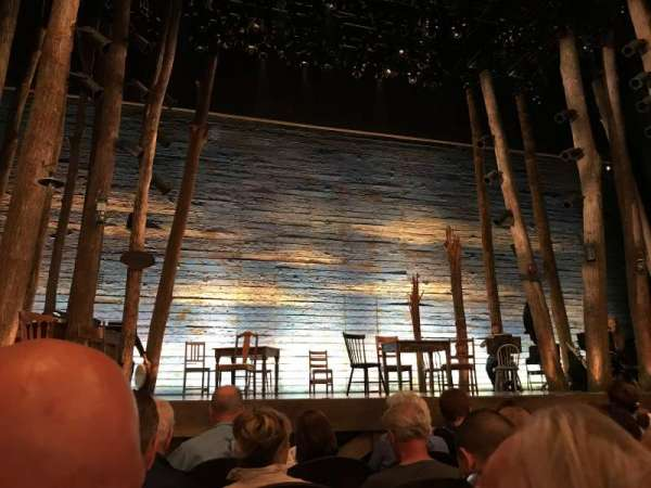 Gerald Schoenfeld Theatre, section: Orchestra, row: D, seat: 101