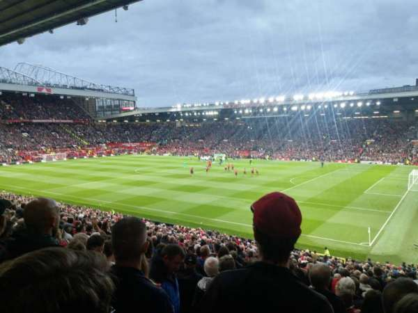 Old Trafford, section: N2412, row: 20
