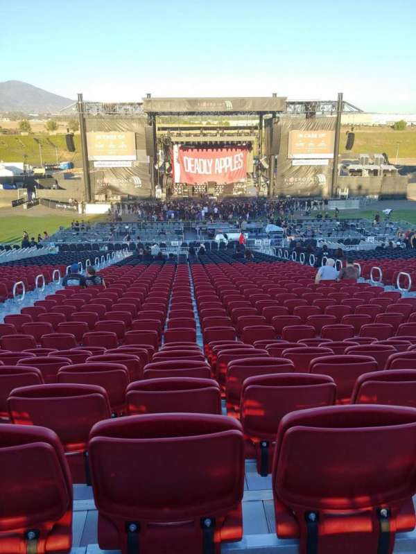 FivePoint Amphitheater, section: 304, row: 41, seat: 48