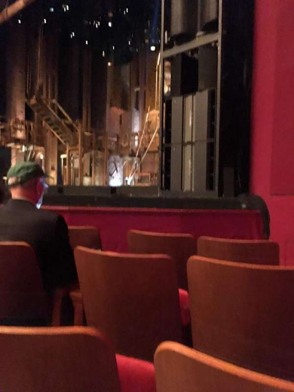 The Kennedy Center Opera House, section: Orchestra R, row: H, seat: 20