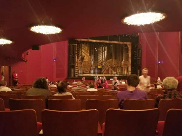 The Kennedy Center Opera House, section: Orch, row: GG, seat: 9