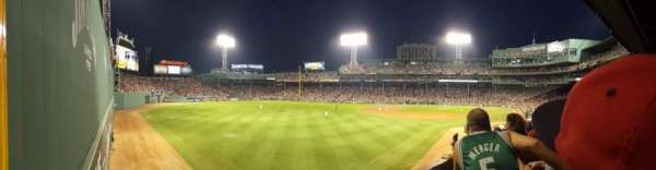 Fenway Park, section: Grandstand 33, row: 2, seat: 14