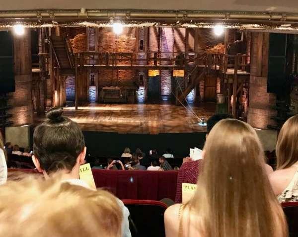 CIBC Theatre, section: DRCR, row: D, seat: 206