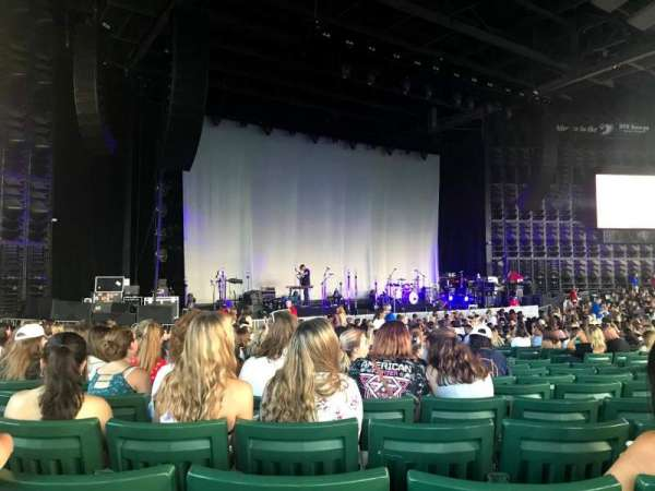 DTE Energy Music Theater, section: LTC4, row: R, seat: 14