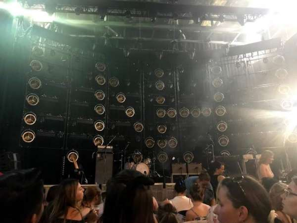 DTE Energy Music Theater, section: CTR1, row: GGG, seat: 15
