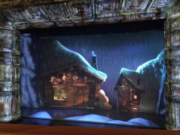 St. James Theatre, section: Mezzanine, row: A, seat: 103