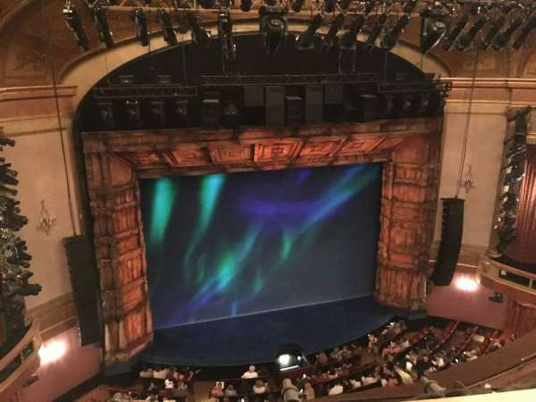 St. James Theatre, section: Balcony L, row: A, seat: 3
