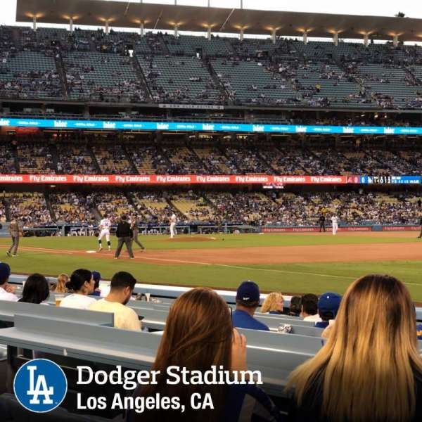 Dodger Stadium, section: 36FD, row: A, seat: 8