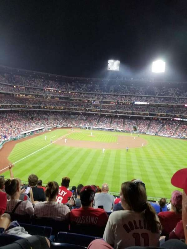 Citizens Bank Park, section: 203, row: 9, seat: 11