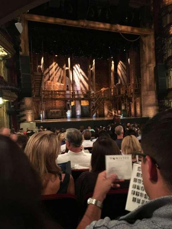 CIBC Theatre, section: ORCHESTRA L, row: T, seat: 7