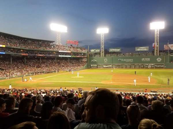 Fenway Park, section: Grandstand 15, row: 4, seat: 7 and 8