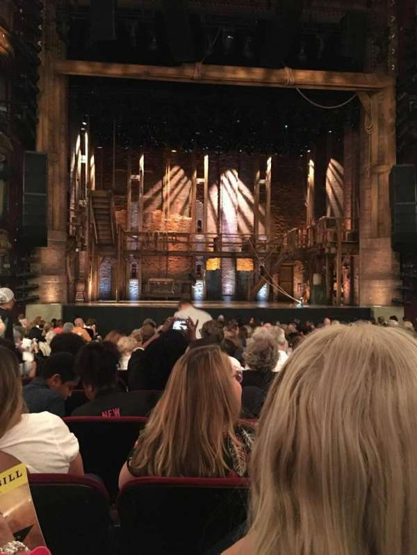 CIBC Theatre, section: Orchestra C, row: T, seat: 104