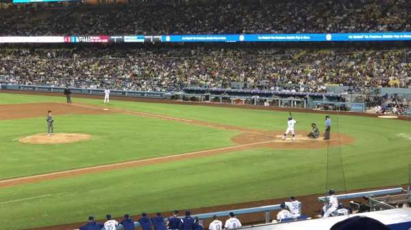 Dodger Stadium, section: 135LG, row: C, seat: 7