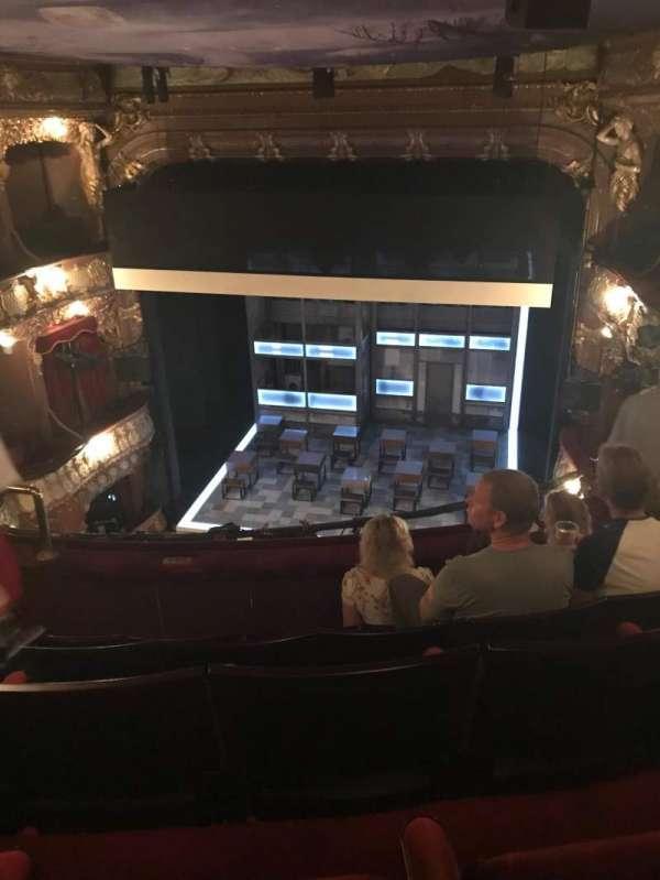 Apollo Theatre, section: Grand Circle, row: E, seat: 8