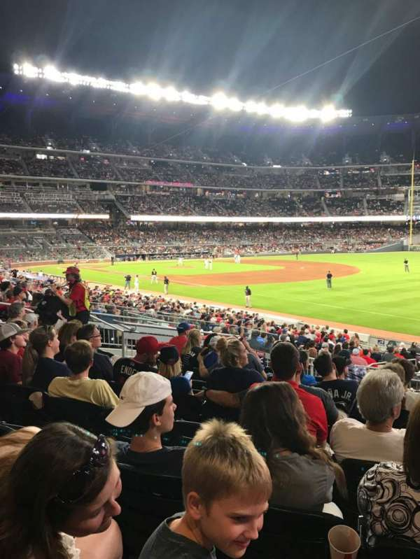 SunTrust Park, section: 112, row: 9, seat: 9