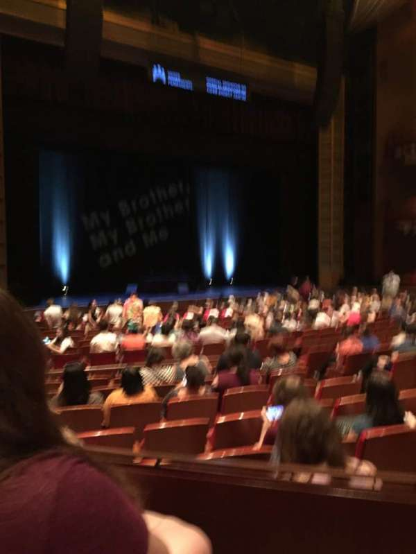 Cobb Energy Performing Arts Centre, section: L-ORCH, row: S, seat: 15