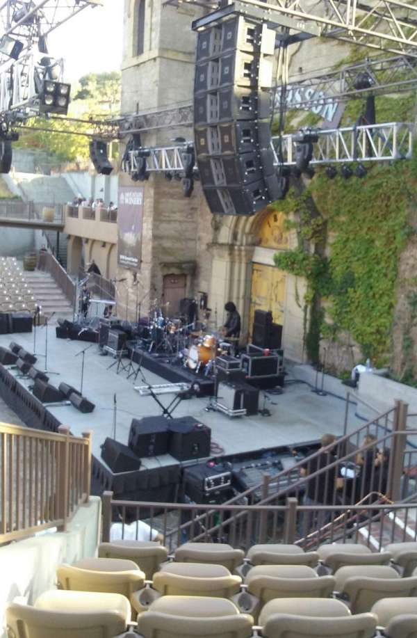 Mountain Winery, section: 21, row: F, seat: 9 and10