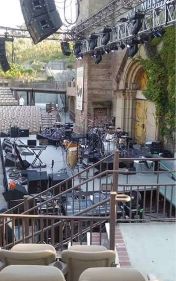 Mountain Winery, section: 21, row: D, seat: 1and2
