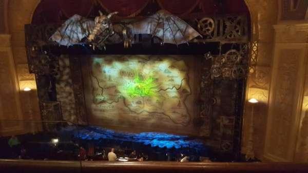 Detroit Opera House, section: Balcony 4, row: BB, seat: 104