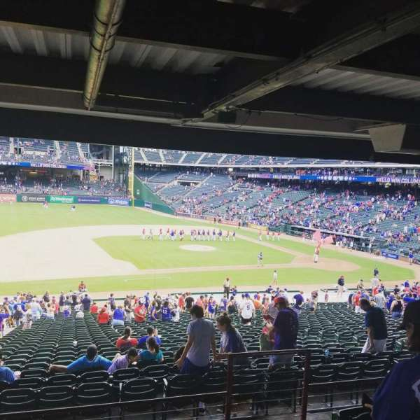 Globe Life Park in Arlington, section: 118, row: 37, seat: 14