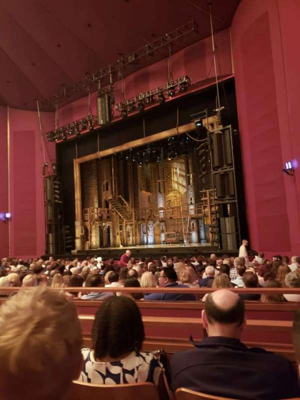 The Kennedy Center Opera House, section: Orchestra R, row: T, seat: 22