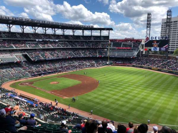 SunTrust Park, section: 314, row: 12, seat: 5