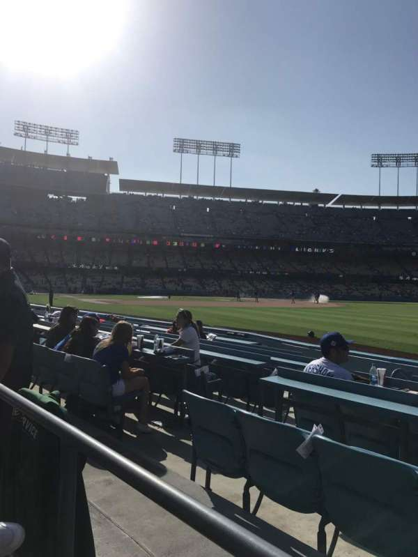 Dodger Stadium, section: 44FD, row: A, seat: 6